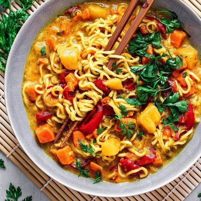 My Favorite Curry Noodles ...