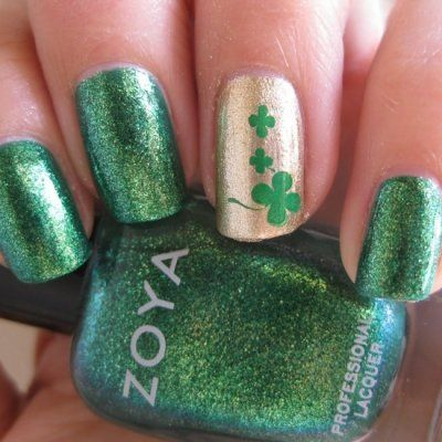 This St. Patrick's Day Nail Art Will Make Others Green with Envy ...