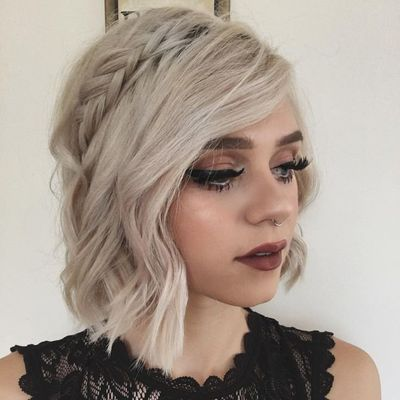 25 Prom 💃🏼 Hairstyles 💆🏼💆🏿💆🏽💆🏻 for Girls with Short Hair ...