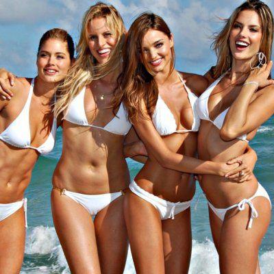 Where do Victoria's Secret Models Go on Holiday?