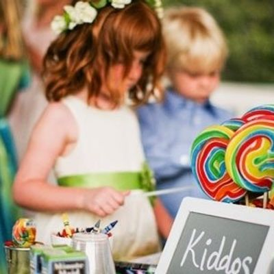 7 Ways to Keep Kids Busy at Your Wedding ...