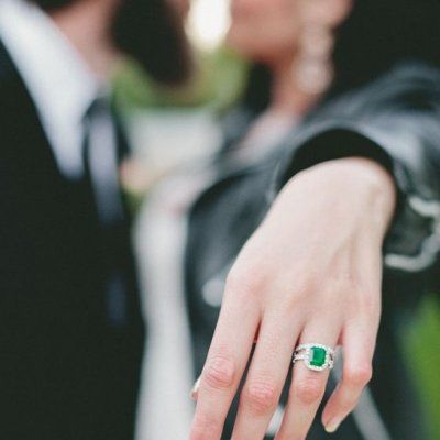 This is Why You Will Love Having a Colored Stone in Your Wedding Ring ...