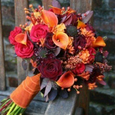 24 Stunning Fall Wedding Bouquets ...