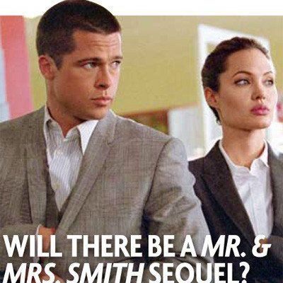 Mr & Mrs Smith: the Sequel?!?