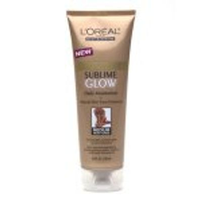Fake Bake Month: L'Oreal Sublime Glow Daily Moisturizer ...