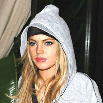 Lindsay Lohan is a Tiger in the Sack