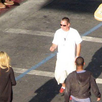 'hancock' Filming on Hollywood Blvd!