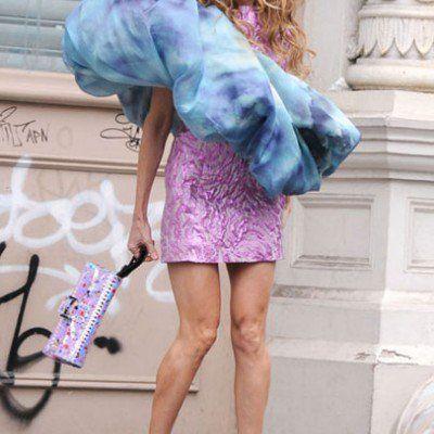 Sarah Jessica Parker Wears a Scrunchie!